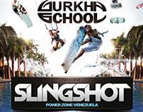 Diseño de Flyer para nuestro cliente Gurkha School