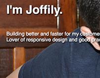 Joffily Portfolio (Responsive layout)