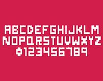 TIPOGRAFIA // Danish Bricks Font