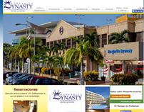 Desarrollo del Sitio Web del hotel Margarita Dynasty