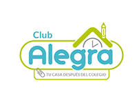 Diseño de logo para Club Alegra