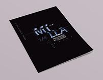 Desplegable Tipográfico -1/4 de Milla.