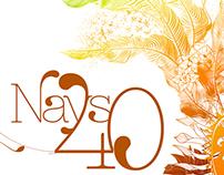 Convite - Nays 40 anos