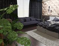 Hotel Room / Interior & Furniture Design / CGI
