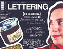 Revista lettering