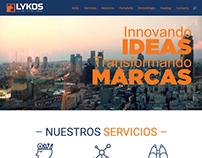 Diseño Web Lykosdesign.com