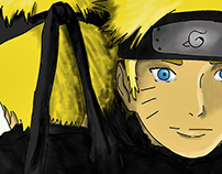 Naruto meet your inside shadow