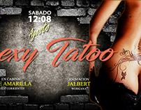 Diseño de Banner estilo tatoo