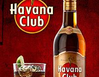 Retouching Digital / Bottle Havana Club