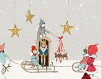 Selvedge -  Christmas greeting