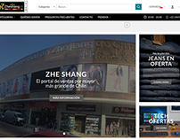 ZHESHANG ECOMMERCE WEBSITE