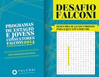 Estande de divulgação - Falconi