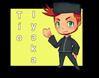 Tio Iyaka Character Design