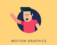 Character Walk Cycle - Motion Design