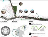 Diagramacíon planchas para Concurso de Urbanismo