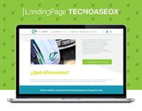 Landing Page - Tecnoaseox
