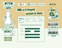 Master gráfico Campaña Etiquetas INDIO 3era edición
