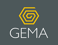Criação do logotipo e site do ecommerce Gema