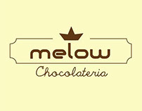Logomarca Melow Chocolateria
