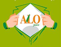 AloJuice - Social Media