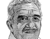 Retrato en conmemoración a Gabriel García Márquez