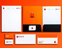 Logo Branding Geometric inspiration -Web Desing DASCON