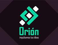 Diseño de Identidad gráfica Orión