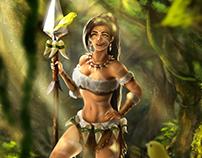 Fanart Nidalee - League of Legends