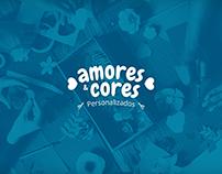 Amores e Cores - Logo Design