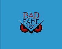 Bad fame studio de grabacion de la cuidad de Med - Logo