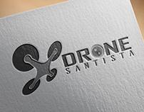 Criação de Logo Drone Santista