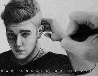 Drawing Justin Bieber 1