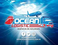 Diseño Web | Ocean Logistic | + Material P.O.P
