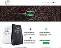 Granos de Café Ecommerce