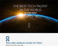 Sitio web para la captura de talentos técnologicos