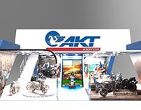 Stand AKT Motos