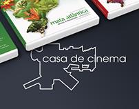 Arte Gráfica para DVDs Brasil 8 Paisagens