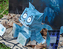 Cheshire Paper Toy