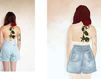 Illustrations inspired by Sara Lorusso Photography