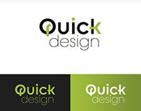 """Logo para coletivo """"Quick Design"""""""