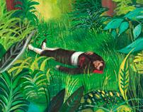 El hombre muerto de Manet en la selva misionera.