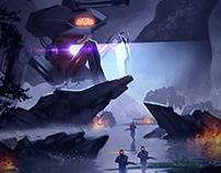 Ilustración Digital • Exploration Mission