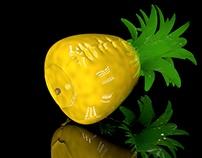 Projeto de infláveis frutos tropicais