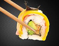 Mr. Sushi Social Media