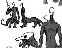 Creature Design 2012-2014