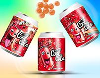 Packaging, branding Cool Cola