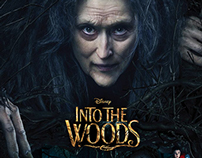 MOVIE POSTERS - Into the Woods I Disney