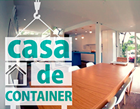 Casa Container - Momento Ambiental