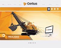 Consultora CERTUS Diseño Gráfico e Identidad Visual