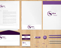 Diseño de Identidad Corporativa Saloon Solutions